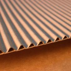 Гофрокартон двухслойный (2х слойный) в рулоне