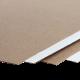 Микрогофрокартон белый/бурый в листах