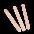 Палочка косметическая деревянная