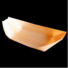 Лодочки для еды деревянные