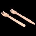 Одноразовые деревянные вилки