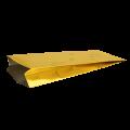Пакет металлизированный золотой с центральным швом (двухшовный)