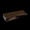 Пакет металлизированный черный с центральным швом (двухшовный)