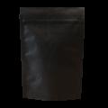 Пакет дой пак бумажный крафт трехслойный черный с замком zip-lock