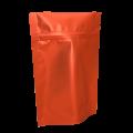 Пакет дой пак металлизированный терракотовый матовый с замком zip-lock