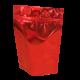 Пакет дой пак металлизированный красный с замком zip-lock