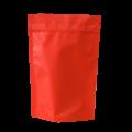 Пакет дой пак оранжевый матовый металлизированный с замком zip-lock