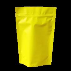 Пакет дой пак салатовый матовый металлизированный с замком zip-lock
