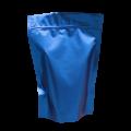 Пакет дой пак металлизированный синий (процесс) матовый с zip-lock