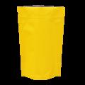Пакет дой пак металлизированный желтый матовый с zip-lock