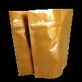 Пакет дой пак металлизированный золотой с замком zip-lock