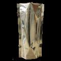 Пакет дой пак металлизированный с замком zip-lock