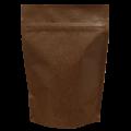 Пакет дой пак коричневый бумажный с zip-lock