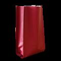 Пакет пятишовный бордовый матовый
