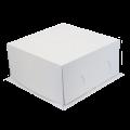 Короба для тортов «Хром-Эрзац» белые