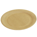 Бумажные тарелки крафт
