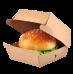 Упаковка для бургеров Pure Kraft