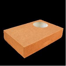 Коробочка с окошком, для пончиков