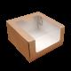 Короба «Для Транспортировки» с окном крафт