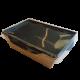 Салатники «Black Edition» с прозрачной крышкой