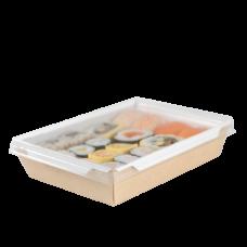 Салатники с прозрачной крышкой