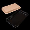 Лоток картонный для нарезки, кулинарии, сервировки Black Edition
