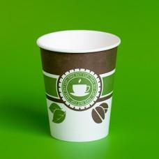 Бумажные стаканы для горячих напитков объемом 400 мл.