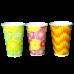 Стаканы для холодных напитков объемом 300 и 400 мл.