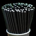Трубочки бумажные Черные