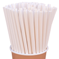 Бумажные трубочки Белые