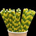 Бумажные трубочки для напитков Бамбук