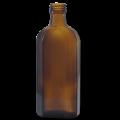 Флакон из коричневого стекла восьмигранный