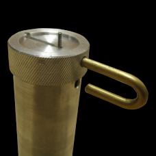 Тубус (пенал) для ключей металлический со штоком