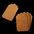 Бумажные бирки из крафт картона