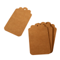 Бумажные бирки, теги из крафт картона