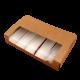 Коробочка для эклеров с вкладышем и окном