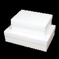 Коробочка белая, крышка - дно