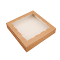 Коробка с окном, крафт