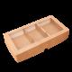 Коробка с окном для столовых приборов