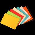 Цветные конверты С5 с прямым клапаном 162х229 мм