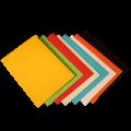 Цветные конверты С4 с прямым клапаном 229x324 мм