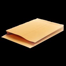 Крафт конверты - пакеты с боковым и донным расширением