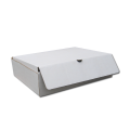 Самосборная коробка белая
