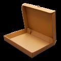 Самосборная коробка коричневая