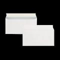 Почтовые конверты белые с прямым клапаном