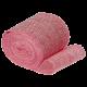 Ленты холщевые розовые