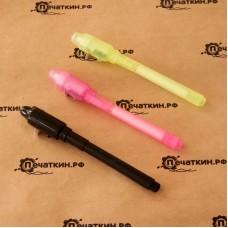 Ультрафиолетовый маркер и ультрафиолетовый фонарь