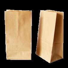 Бумажные крафт пакеты с прямоугольным дном