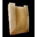 Крафт пакет с окном и с V-образным дном