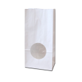 Белый крафт пакет с окном